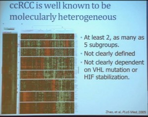 7 ccRCc is well known to be molecuallry heteroge